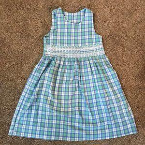 Hartstrings plaid sleeveless dress 6